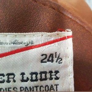 kmart Jackets & Coats - 💜 VINTAGE WOMEN'S Faux Leather Coat Brown 24.5